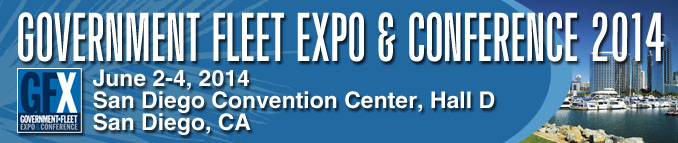 The Gov't Fleet Expo is coming to San Diego